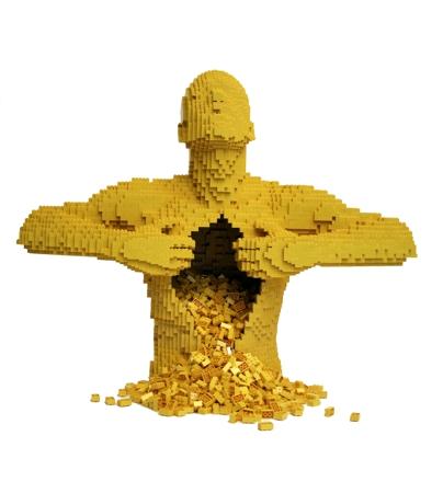 """""""黄""""在内森的作品体系中代表死亡,我们要勇敢,坦荡的面对世界,至死"""