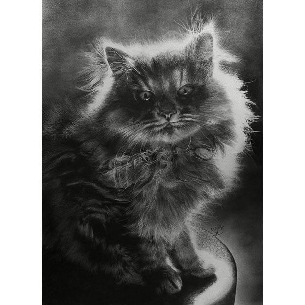 素描临摹动物图可爱