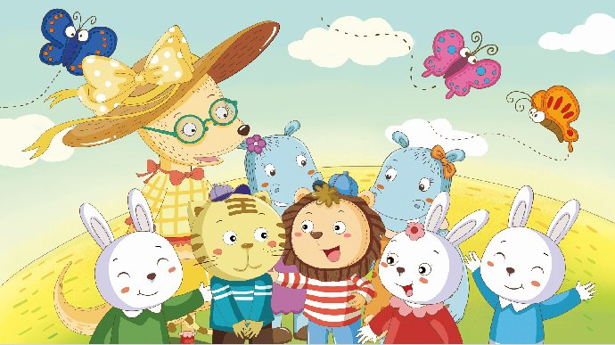 在教育者的眼中,孩子们与活泼可爱的小动物们有着太多的共同点.