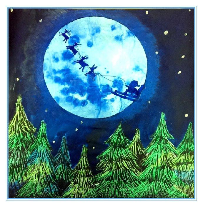 东方童画12月创意绘画亲子活动-哈哈儿童网