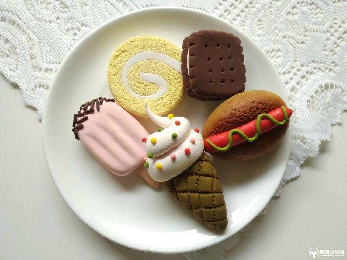 """亲子活动 —diy创意黏土""""下午茶""""冰箱贴"""