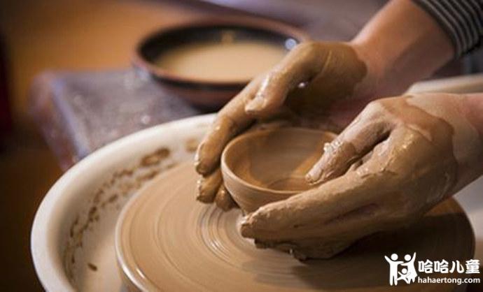 揉泥拉胚,diy陶艺制作,感受古老文化与现代艺术结合!