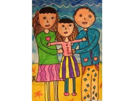 在这里为孩子提供专业的绘画指导,让每个孩子都能成为小小艺术家.图片