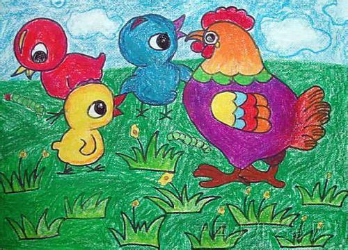 海雄鹰美术专修学校 绘画综合 少儿绘画 少儿课程 哈哈儿童 中国领先