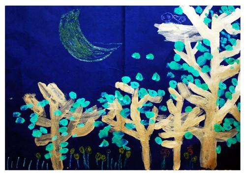 儿童画 上海雄鹰美术专修学校 绘画综合 少儿绘画 少儿课程 哈哈儿童