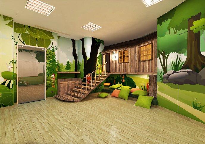 森林主题教室图片