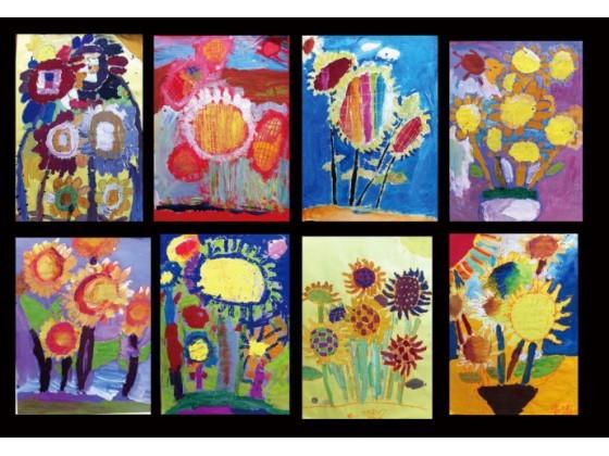 油画,版画,动漫,绘本,设计等专业课程,扩大儿童们的艺术视野,引导他们