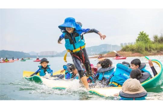 【2020独立营】水上自然学校 | 跳进千岛湖水域,尽享皮划艇的乐趣
