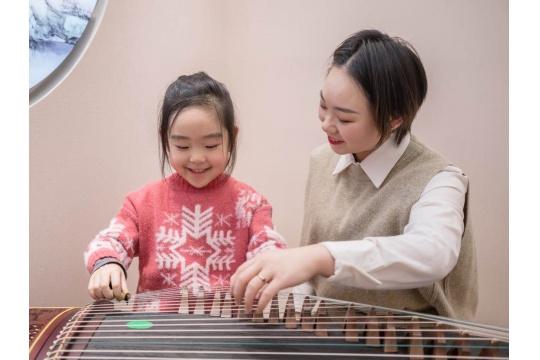 上海4~12岁儿童古筝体验课程 0元领