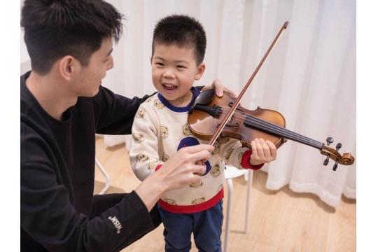 上海4~12岁儿童小提琴体验课程 0元领