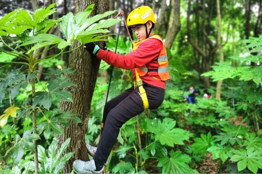 户外技能系列课:攀树、取火烹食、庇护所搭建、户外测量,4次打包课程仅需799元,享6.9折优惠