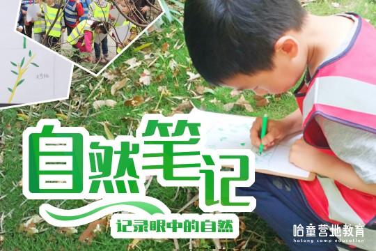 【自然探索——自然笔记】让孩子走进自然,用手中的笔记录眼中的自然!