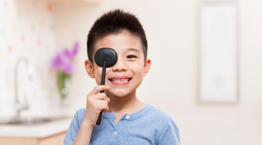 儿童护眼:视力下降,弱视怎么解决